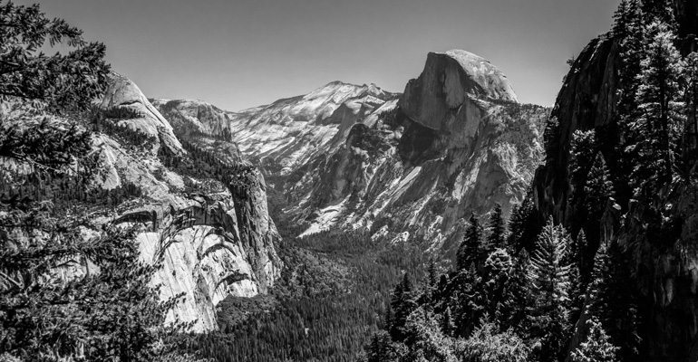 Ansel Adams Black and White