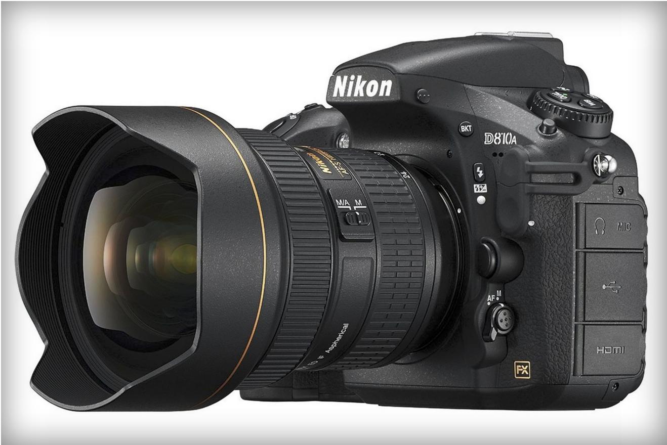Nikon's D810A