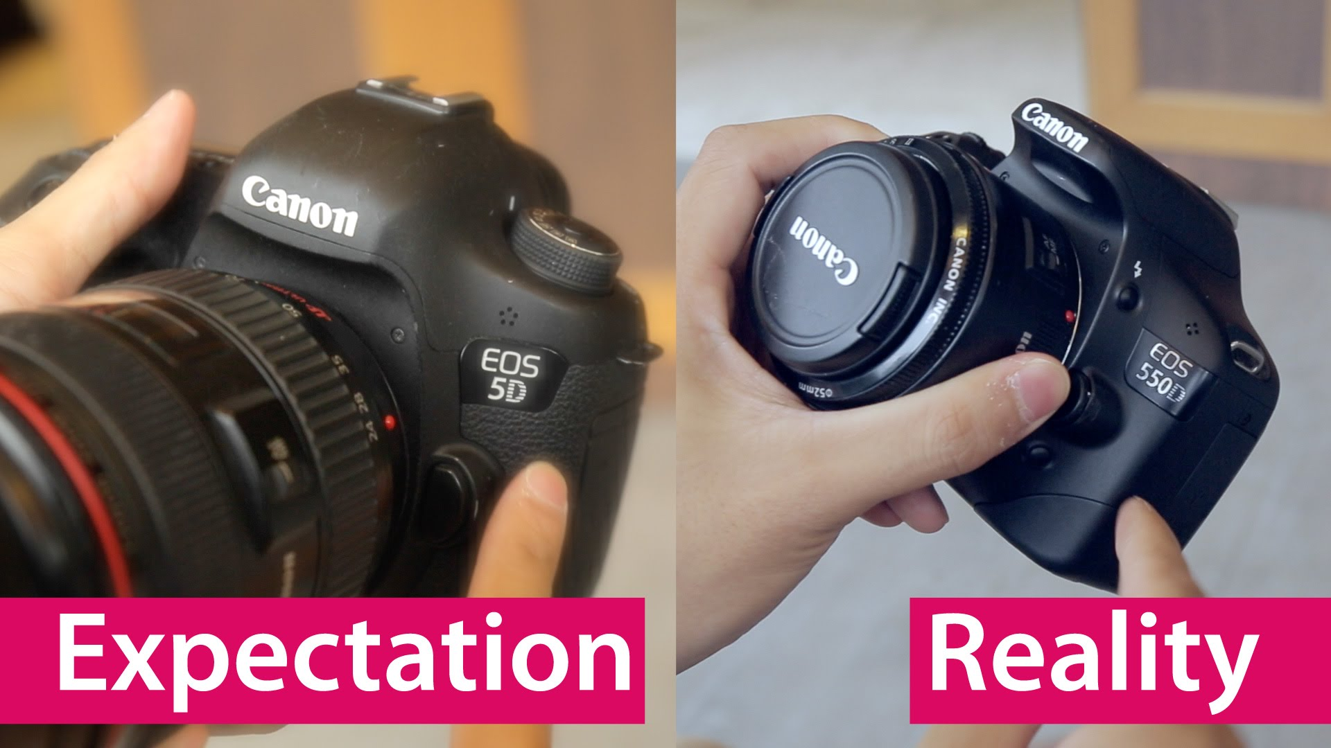 Must see- NOOB gets his first DSLR- Reality Check