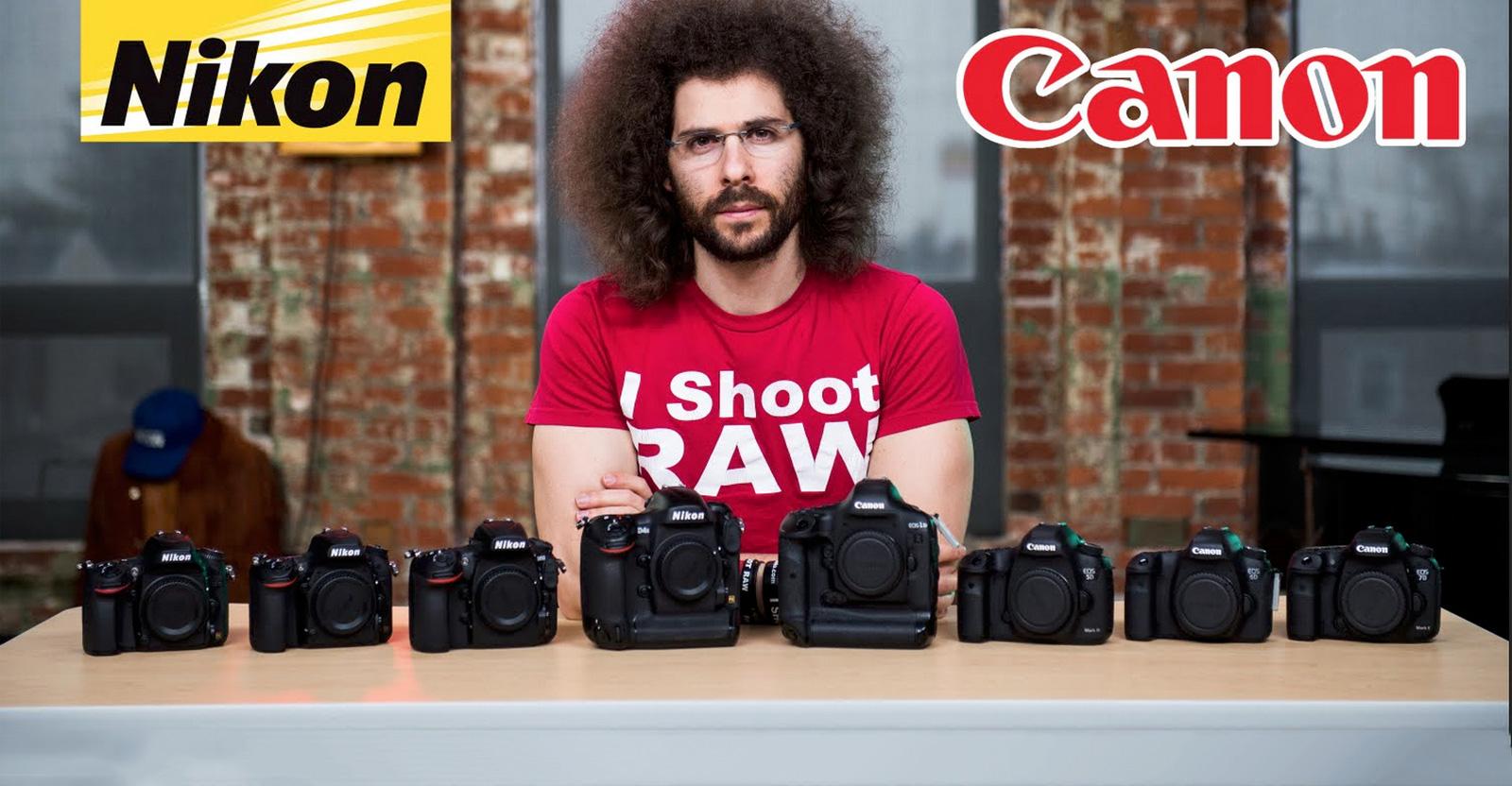 Canon Vs Nikon Fro