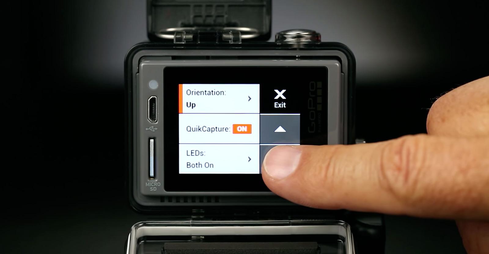Go Pro Touchscreen