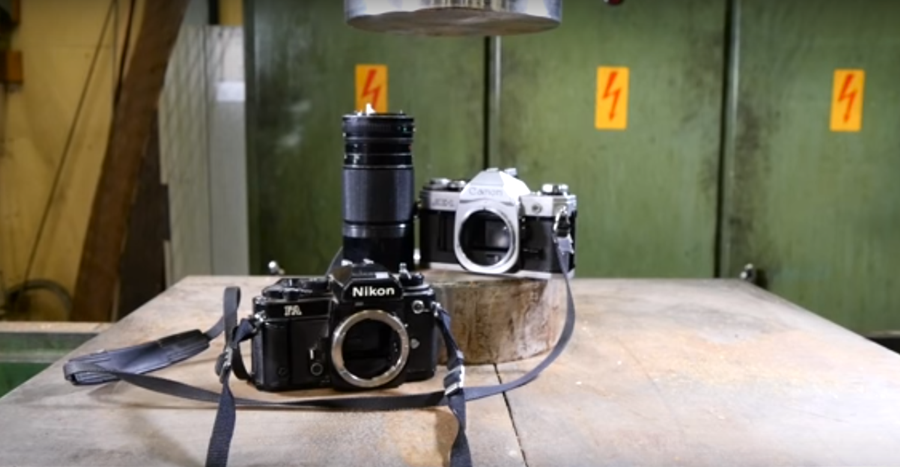 Canon And Nikon Haters - You're Going To Love This