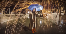 How To Create The Rain Of Fire-Effect In-Camera Safely Without Post-Processing
