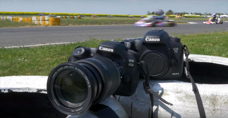 Camera comparison: Canon 80D & 7D Mark II