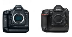 The Ultimate Camera Comparison - Canon EOS-1D X Mark II vs. Nikon D5