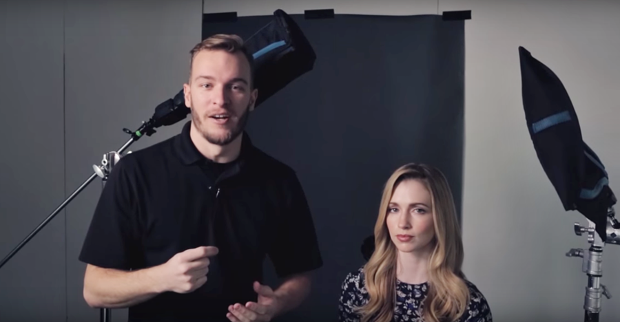 3-Point Inexpensive Portrait Lighting You Can Set Up Anywhere