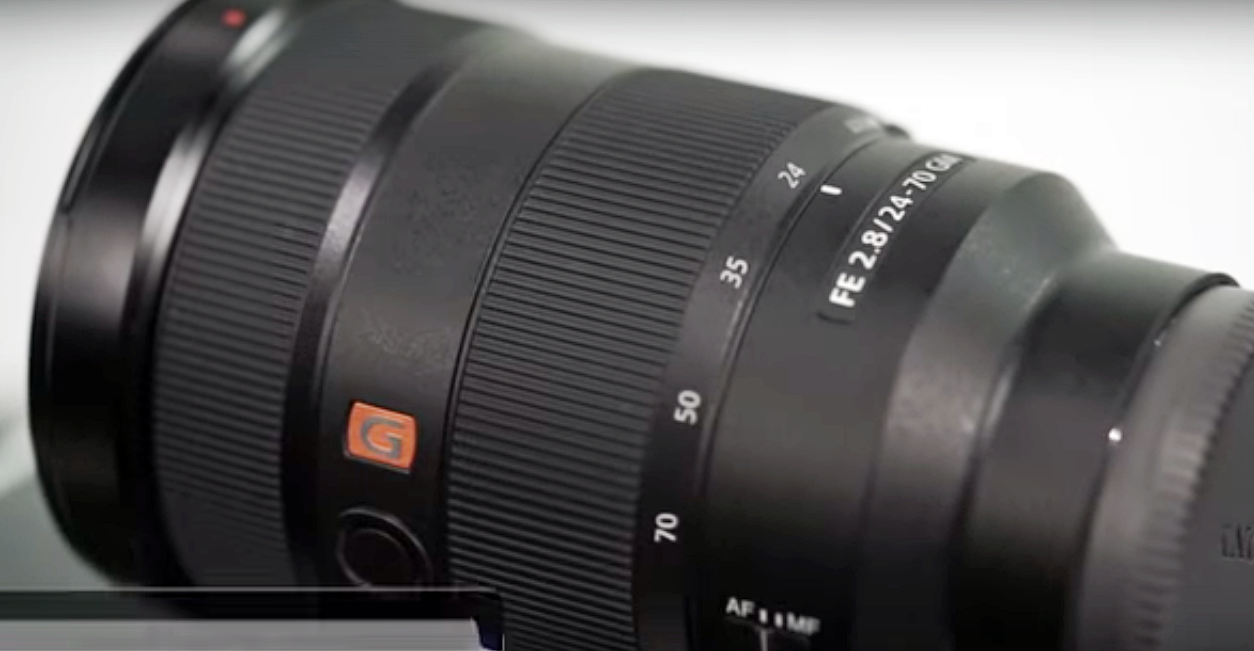 You've Never Seen The Sony FE 24-70 mm G Master Lens This Way Before